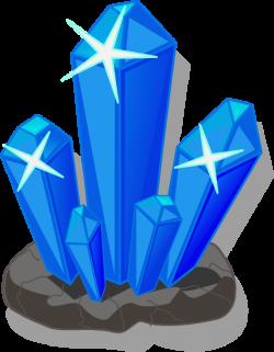 Crystals clipart transparent
