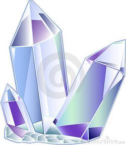 Crystals clipart quartz