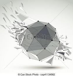 Dots clipart geometric shape