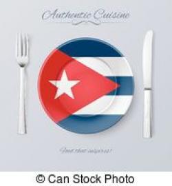 Cuba clipart plate