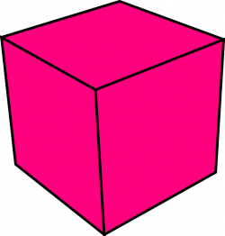 Cube clipart