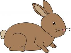 Cuddle clipart brown bunny