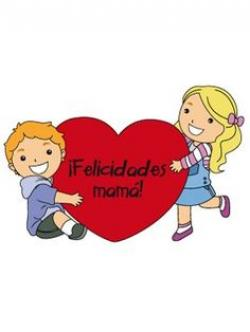 Cuddle clipart madre