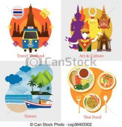 Thai clipart thai culture