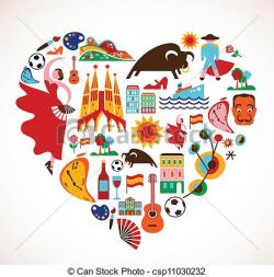 Spain clipart spanish culture