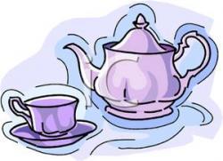 Teapot clipart cup saucer