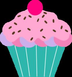 Vanilla Cupcake clipart transparent