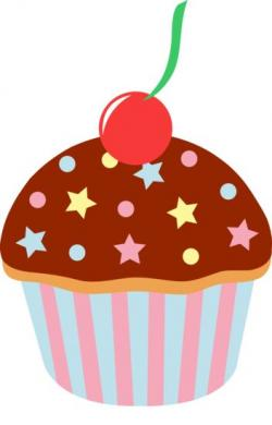 Vanilla Cupcake clipart candyland