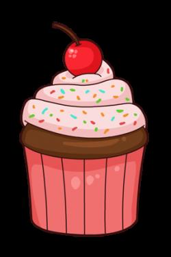 Vanilla Cupcake clipart animated