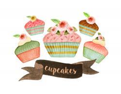 Dessert clipart bakery product