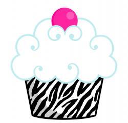 Vanilla Cupcake clipart cute cupcake