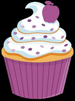 Vanilla Cupcake clipart rainbow cupcake