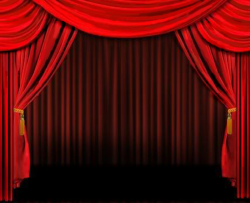 Theatre clipart stage background