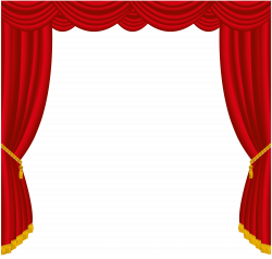 Broadway clipart curtain