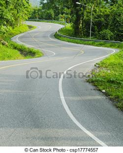 Curve clipart asphalt