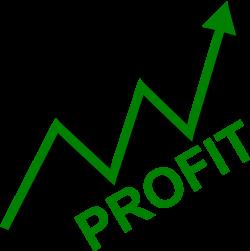 Rate clipart profit