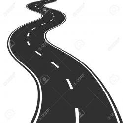 Road clipart journey