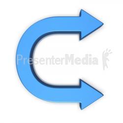Curve clipart symbol