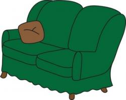 Furniture clipart pillow