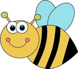 Bugs clipart bee