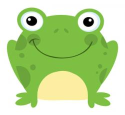 Bullfrog clipart cartoon