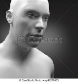 Cyborg clipart humanoid