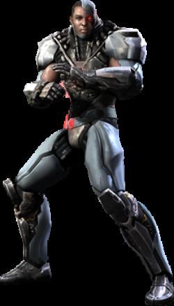 Cyborg clipart injustice god among us