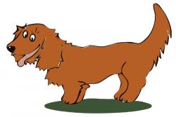 Dachshund clipart brown