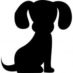 Perro clipart dog outline