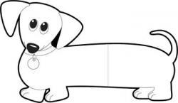 Dachshund clipart weiner dog