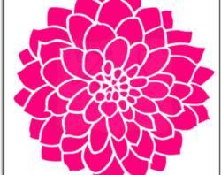 Lotus clipart dahlias