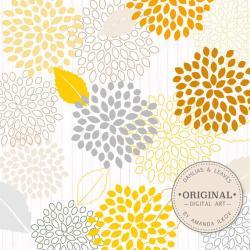 Chrysanthemum clipart yellow chrysanthemum
