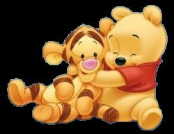 Hug clipart baby winnie the pooh friend