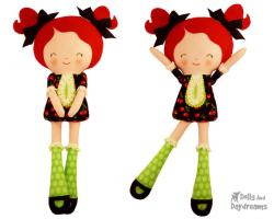 Ragdoll clipart dolly
