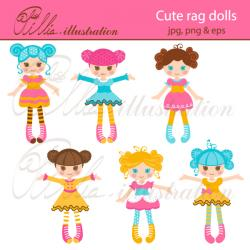 Ragdoll clipart cute doll