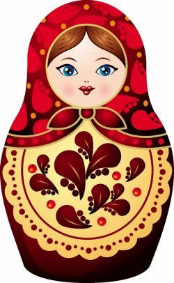 Russia clipart Russian Doll Clipart