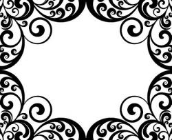 Exotic clipart damask