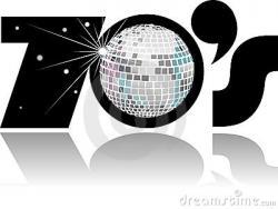 Disco clipart 70's