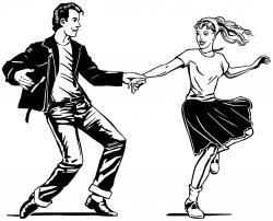 Danse clipart 50's