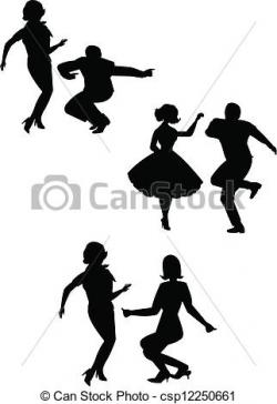Dancing clipart the twist
