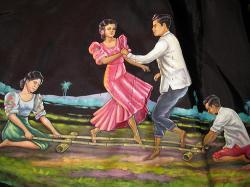 Dancing clipart tinikling
