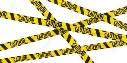Barrier clipart police tape