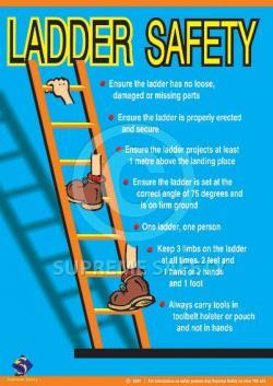 Danger clipart ladder safety