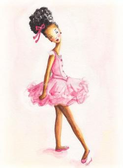 Ballet clipart african american