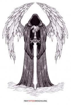 Fallen Angel clipart death angel