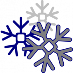 Navy clipart snowflake