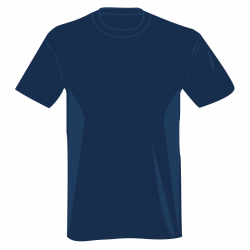 Dark Blue clipart t shirt