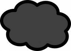 Thunder clipart storm cloud