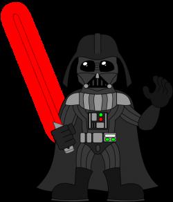 Darth Vader clipart comic