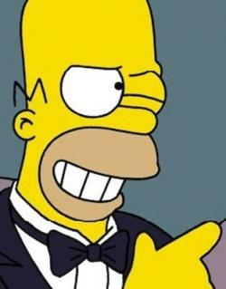 The Simpsons clipart homer simpson